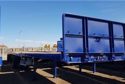 Afrit Flat deck 6.1m 12.2m Flatdeck Superlink Full House Trailers