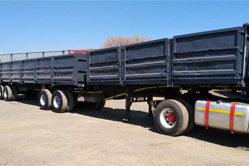 Afrit Flat deck AFRIT DROPSIDE FLAT DECK SUPERLINK Trailers