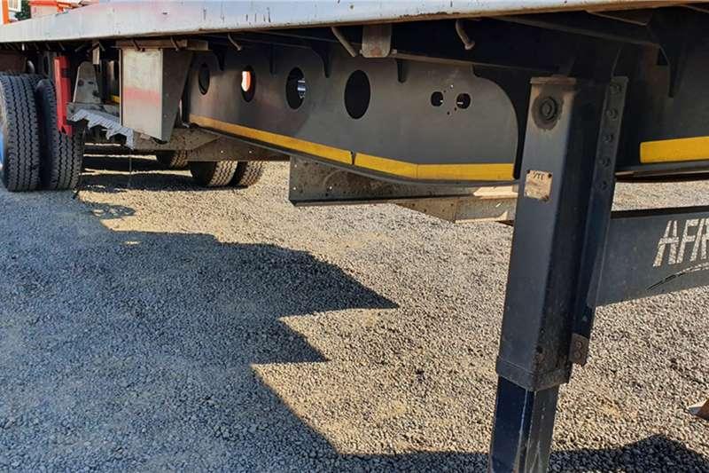Afrit Flat deck AFRIT TRI AXLE 13.2 meter FLAT DECK Trailers
