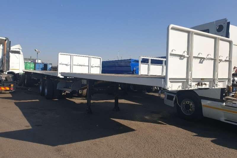 Afrit Trailers Flat deck Super Link 2015