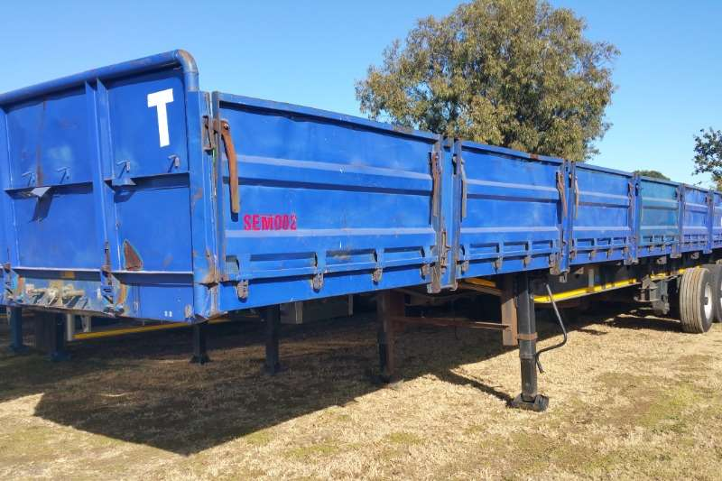 Afrit Trailers Flat deck Tridem semi Trailer 2011