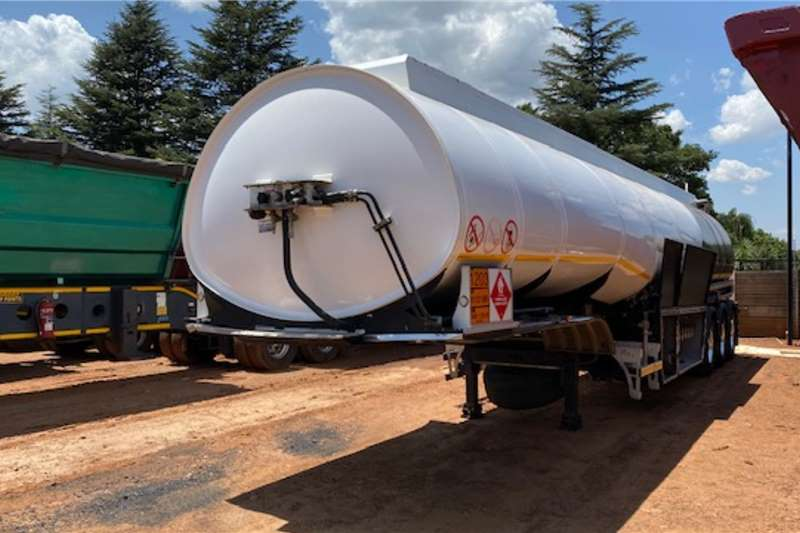 Afrit Trailers Fuel tanker ATS Tri Axle Fuel Tanker Trailer 2016