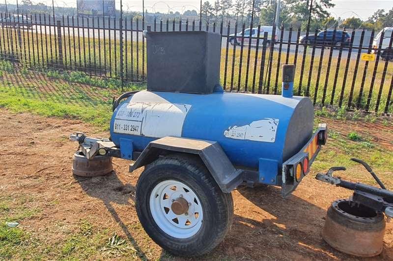 Afrit Trailers Fuel tanker DIESEL TANKER 1998