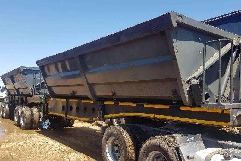 Afrit Trailers Interlink 40 cube 2008