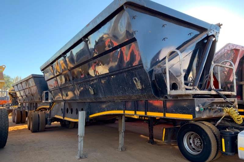 Afrit Trailers Interlink SIDE TIPPING 2011