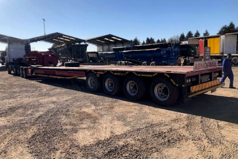 Afrit Trailers Lowbed 75 Ton 4 axle with 2 axle Dolly 2017