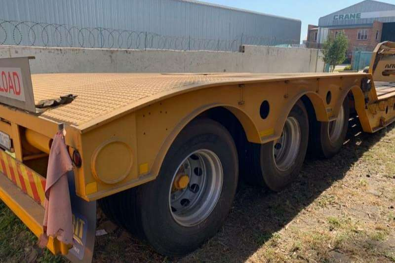 Afrit Trailers Lowbed Folding Gooseneck 3 axle (70t) + Dolly (Viewi by a 2012