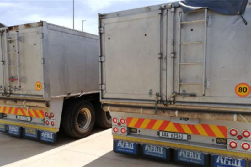 Afrit Trailers Lowbed