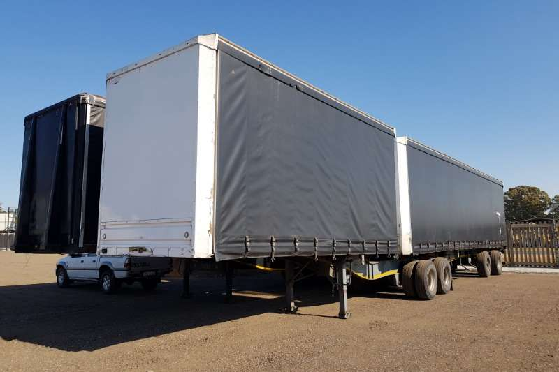 Afrit Trailers SA Truck Bodies Tautliner Superlinks 2014