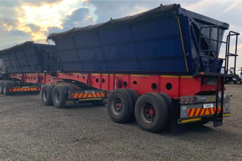 Afrit Trailers Side tipper 2 x 2016 Afrit Side Tipper 45m3 2016
