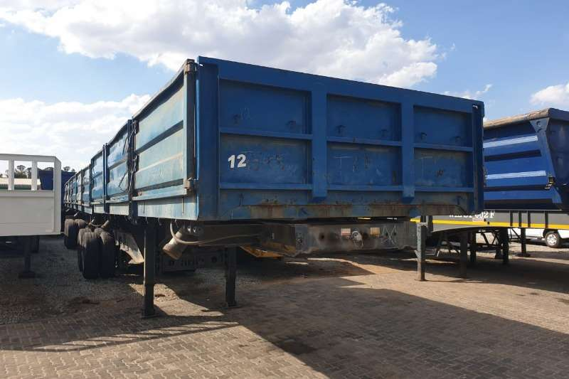 Afrit Trailers Side tipper 2008 Afrit Drop Side Side Tipper Link 2008