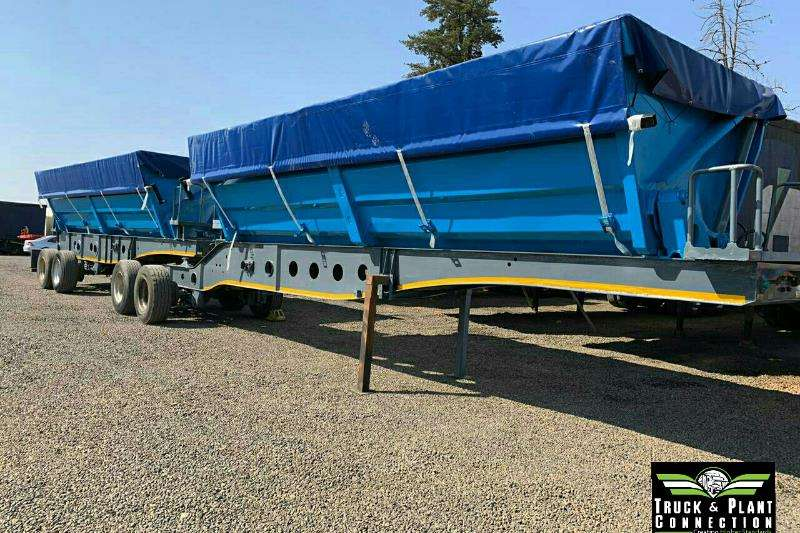 Afrit Trailers Side Tipper 2008 Afrit Side Tipper 45m3 2008