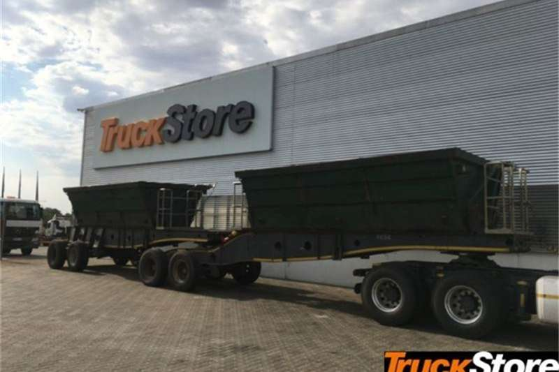 Afrit Trailers SIDE TIPPER 2014