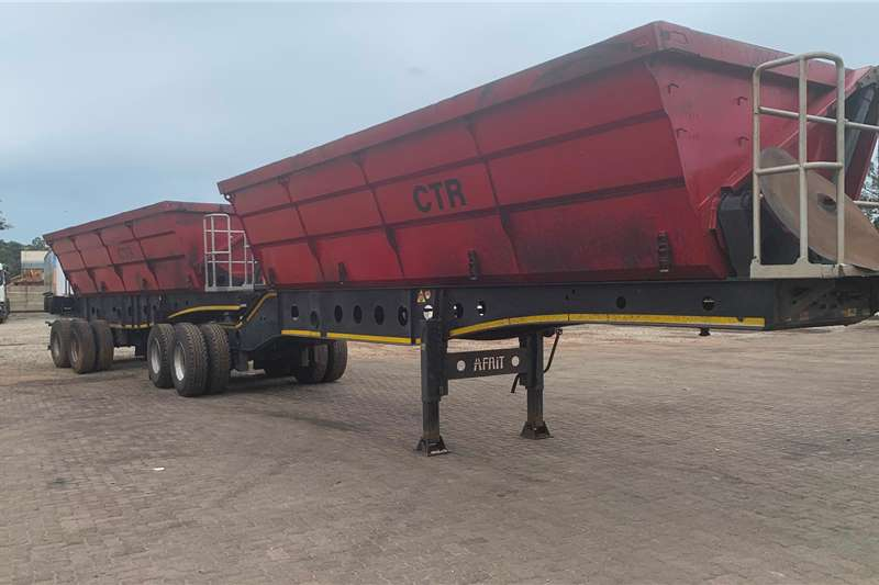 Afrit Trailers Side tipper 2018 Afrit Link Side Tipper 2018