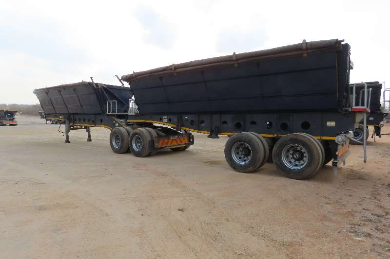 Afrit Trailers Side Tipper 40 CUBE TANDEM AXLE 2013