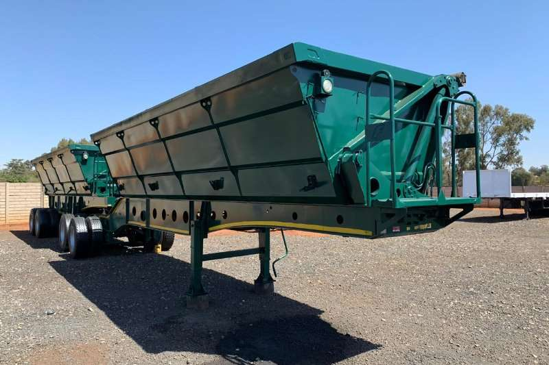 Afrit Trailers Side tipper 40m 2015
