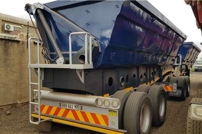 Afrit Side tipper 40m3 38 ton refurbished & Serviced Trailers