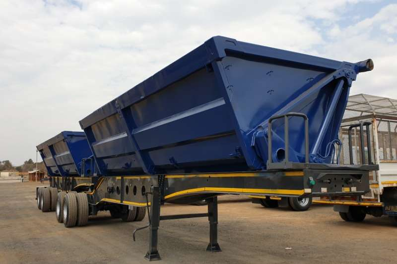 Afrit Trailers Side tipper 45 cube 2010