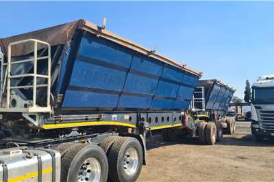 Afrit Side tipper 45 cube with Air suspension Trailers
