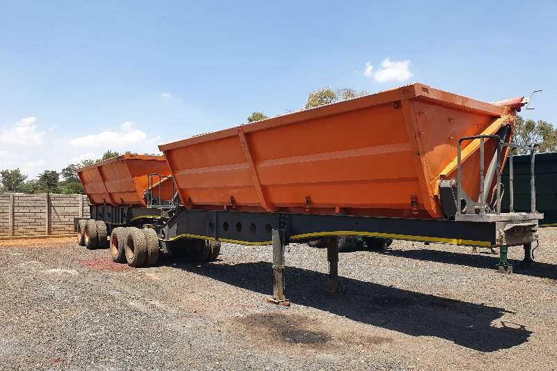 Afrit Trailers Side Tipper 45m 2010