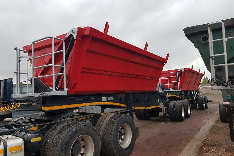 Afrit Trailers Side tipper Afrit 25cube Interlink Sidetipper 2014