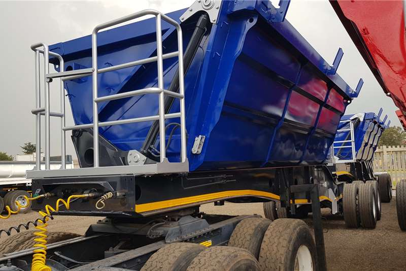 Afrit Trailers Side tipper Afrit 25Cube New Bins, Refurbished 2014