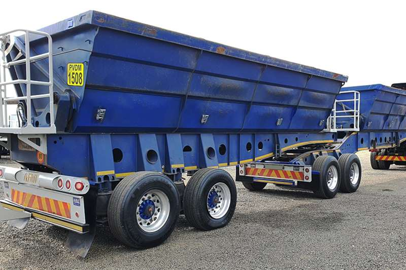 Afrit Side tipper AFRIT 40 CUBE SIDE TIPPER Trailers