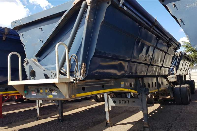 Afrit Trailers Side tipper Afrit 40cube Sidetipper 2013