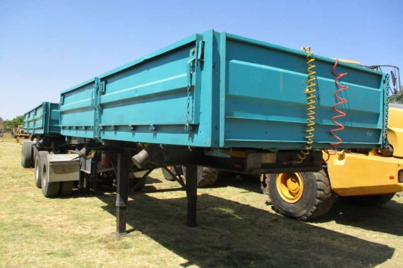 Afrit Trailers Side Tipper AFRIT INTERLINK DROPSIDE SIDE TIPPER TRAILER 2010