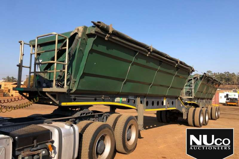 Afrit Trailers Side tipper AFRIT SIDE TIPPER LINK 2014