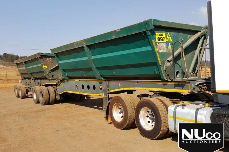 Afrit Trailers Side tipper AFRIT SIDE TIPPER LINK TRAILER 2010
