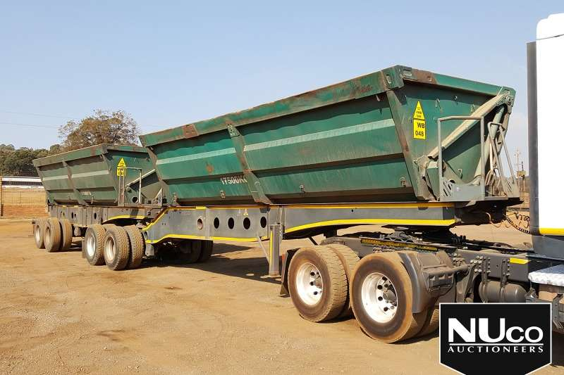 Afrit Trailers Side tipper AFRIT SIDE TIPPER LINK TRAILER