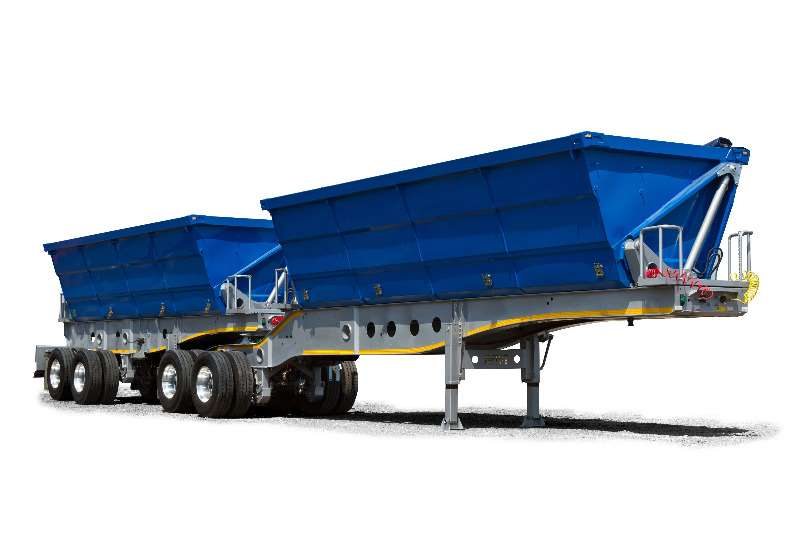 Afrit Trailers Side tipper For Rent