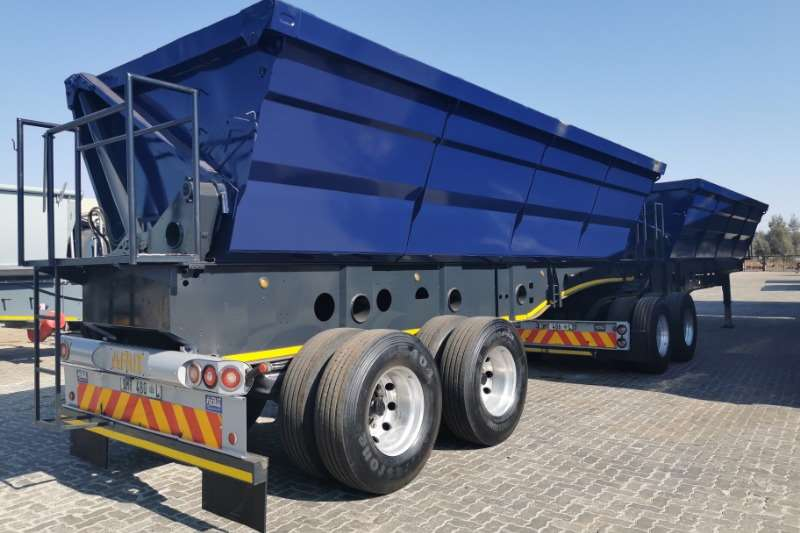 Afrit Trailers Side tipper SIDE TIPPER LINK 2016