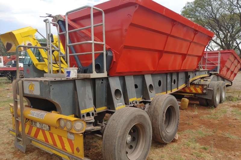 Afrit Trailers Side Tipper Trailer 2014