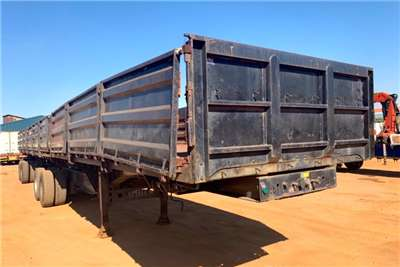 Afrit Superlink DROP SIDE & TIPPING Trailers