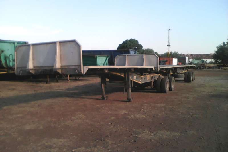 Afrit Trailers Superlink Superlink aluminium deck 2005