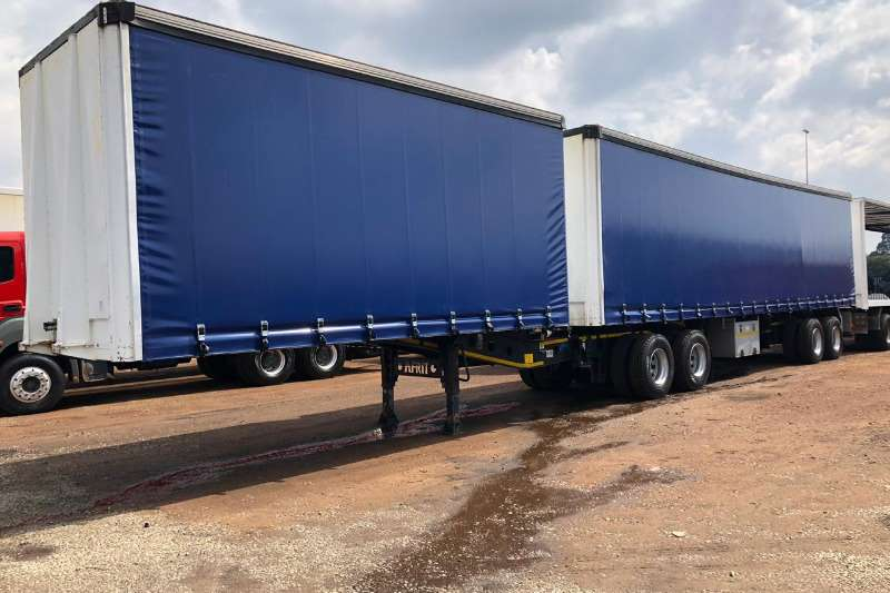 Afrit Trailers Superlink TAUTLINER WITH NEW TARPS 2013