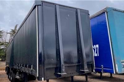 Afrit Tautliner Interlink 6.4m/10.4m Aluminium Tautliner Trailers