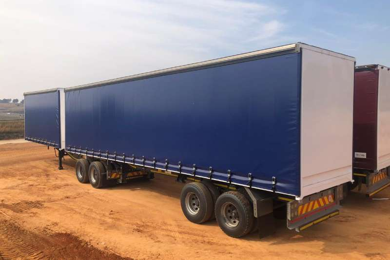 Afrit Trailers Tautliner SUPERLINK WITH NEW TARPS 2013