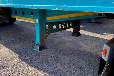 Afrit Walking floor 65m³ Tri Axle Walking Floor Trailers