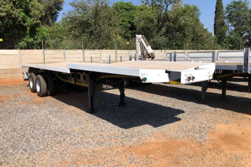 Afrit Trailers Well deck 2 axle Beverage welldeck trailer 2019