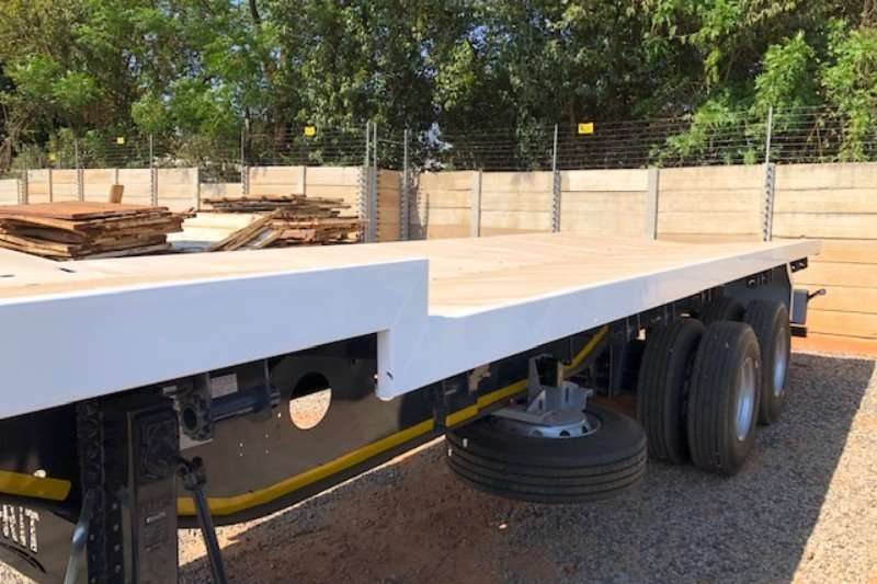 Afrit Well deck 2 axle Beverage welldeck trailer Trailers