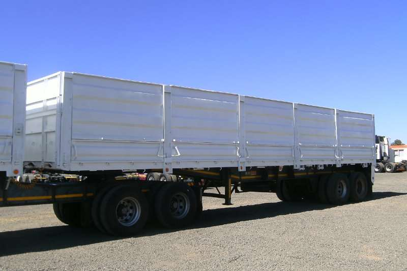 BDJ Trailers Flat deck BDJ SUPERLINK TRAILER WITH DROPSIDES 2000