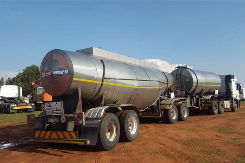 BDJ Stainless steel tank (32000L) Link Trailers