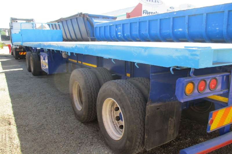 BDJ Trailers Superlink Combo 6x!2 1998