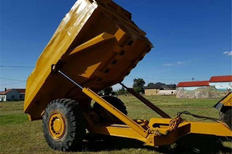 Bell Truck Single Axle Tipper Dumper Trailer