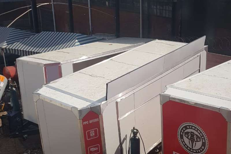 Box trailer body box or closed body trailer 2019