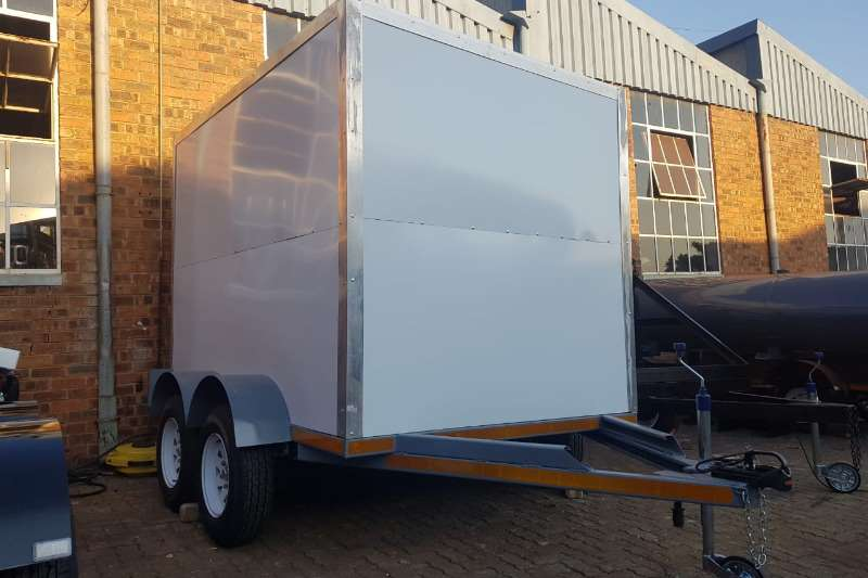 Box trailer Box body trailer 2019