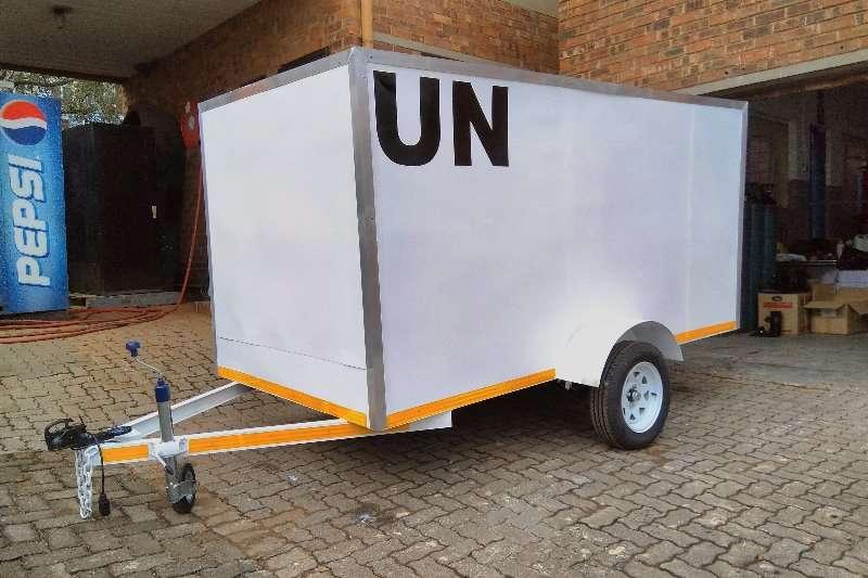 Box trailer box trailer 2018
